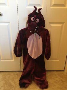 Costume d'hallowen de dragon pour fillette