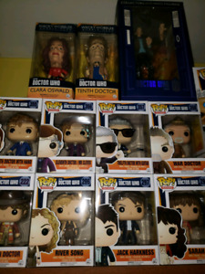 REDUCED for quick sale...Dr. Who Funko Collection