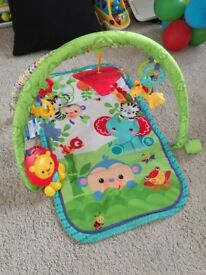 Fisher-Price 3-in-1 Musical Activity Baby Gym, excellent condition,
