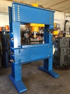 100 ton H-frame hydraulic presses CSA approved