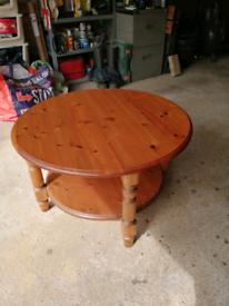 Ducal Pine Coffee Table.