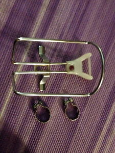 Very Cool Vintage/Retro bicycle handlebar-mount bottle cage!