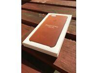 iPhone 6s Plus genuine Apple leather case- box still sealed