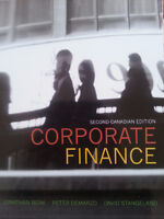 CORPORATE FINANCE SECOND CANADIAN EDITION