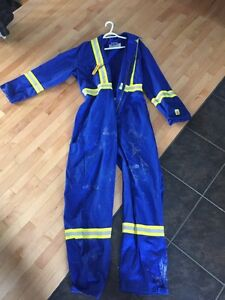 Pro grade fire rated coveralls