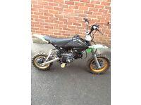 Demon X 110cc Pitbike pit bike stomp Dt cr yz dr kx etc