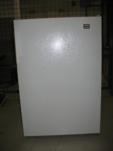 Woods small fridge - used but good condition.  21.75wx23dx33h
