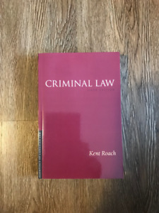 CRIMINAL LAW (6th Edition by Kent Roach)