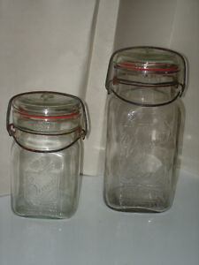 SEALERS CANNING JARS, RARE COLLECTION BLUE/CLEAR PIECES London Ontario image 3