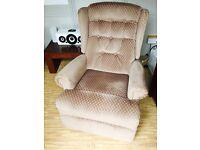 Fabric recliner