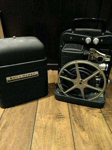 Bell and Howell antique 8mm auto load projector