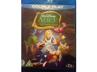 Alice in wonderland Blu ray & DVD