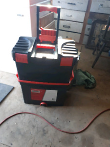 Two tier tool box