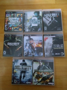 Sony PlayStation PS3 games