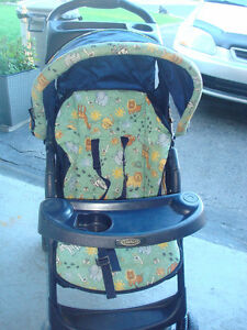 Stroller Graco and booster seat