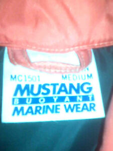 Sailing Gear; Mustang Floater Coat MC1501 - $65 OBO Windsor Region Ontario image 5