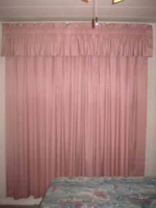 Lined Drapes, Sheer Curtain, Roller Blind