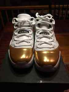 Air Jordan 11 Low Closing Ceremony Gold Size 10