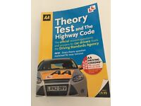 Theory test and the Highway Code book