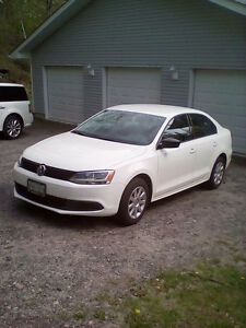 Lady driven 2013 Volkswagen Jetta Sedan