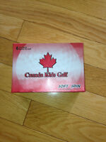 CANADA KIDS GOLF BALLS SOFT SPIN 6 - NEW IN BOX