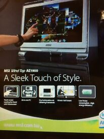 MSI All in one Touch screen panel desk top for £75 or near offer