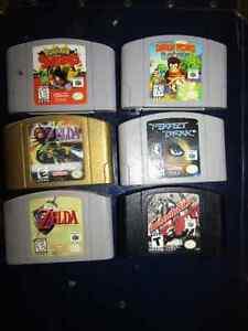 Nintendo 64 games Zelda Diddy King Pokemon