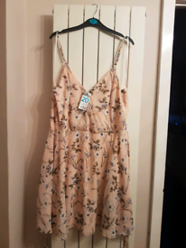 Strappy summer dress - size 20