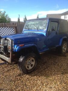 95 jeep yj. Must go!!