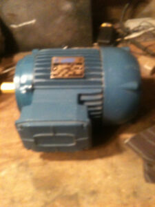 motor electric 1hp 3 ph Peterborough Peterborough Area image 1