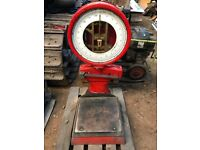 Large Industrial Vintage Post Office Weighing Scales