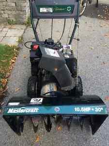 Souffleuse 10.5 hp à vendre West Island Greater Montréal image 1