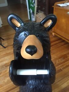 Bear toilet paper holder Kawartha Lakes Peterborough Area image 2