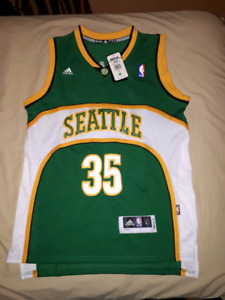 Brand New Seattle Supersonics Kevin Durant Jersey | Size L