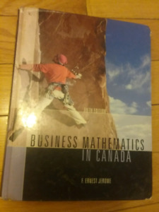 Business Mathematics In Canada 5th edition