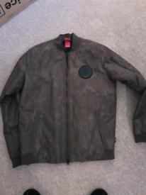 Nike Khaki Bomber Jacket Medium