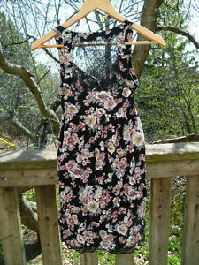 Flowered Dress with Lace Back London Ontario image 3