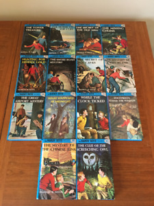 The Hardy Boys Books 1-12, 39, 41 - Childrens Books