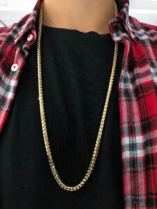 Yellow Gold Solid Franco Chain