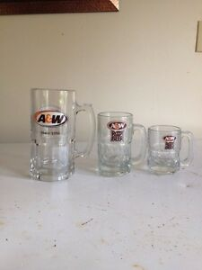 Vintage a and w mugs