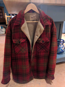 Vintage 90s Woolrich Hunting Jacket - Lined and Cozy