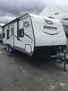 RENT-Travel Trailer Brand new 2017 Jayco Flight 25 ft.