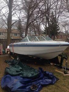 19 foot fibreglass boat free