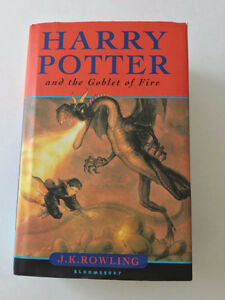 Harry Potter and the Goblet of Fire First Edition UK Print by Om