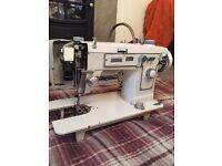 Vintage antique Jones singer sewing machine
