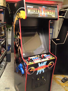 10,000 Game Custom Arcade Machine Made In Vancouver - $2450