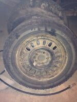 Winter tires good condition