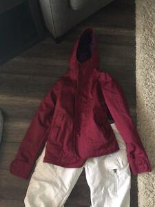 Burton Winter jacket &  Burton snow pants