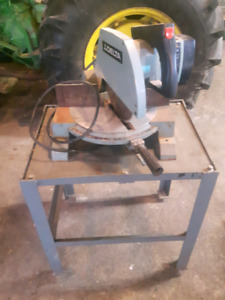 Delta 10 inch miter saw and stand