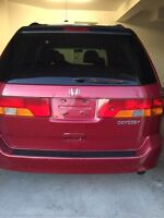Great 2002 Honda Odyssey for sale